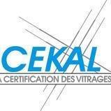 cekal certification des vitrages