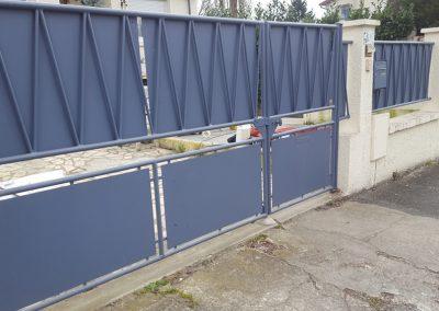 Réparation d'un portail