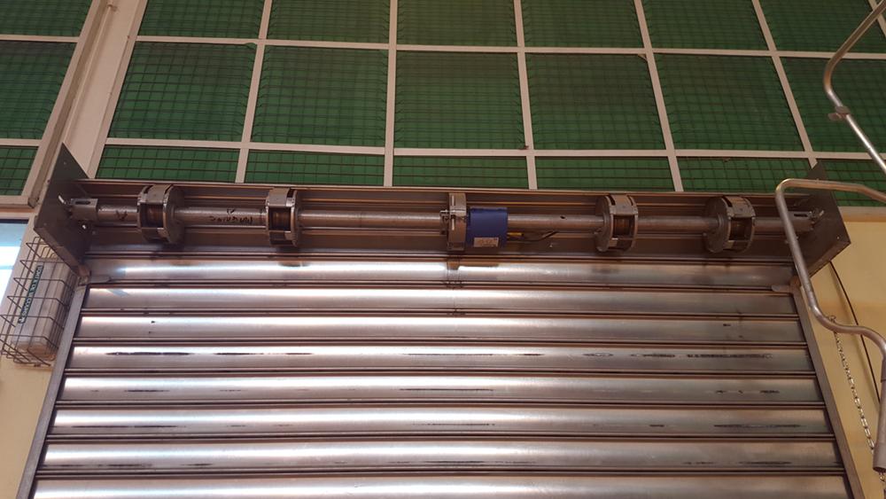 Réparation rideau métallique